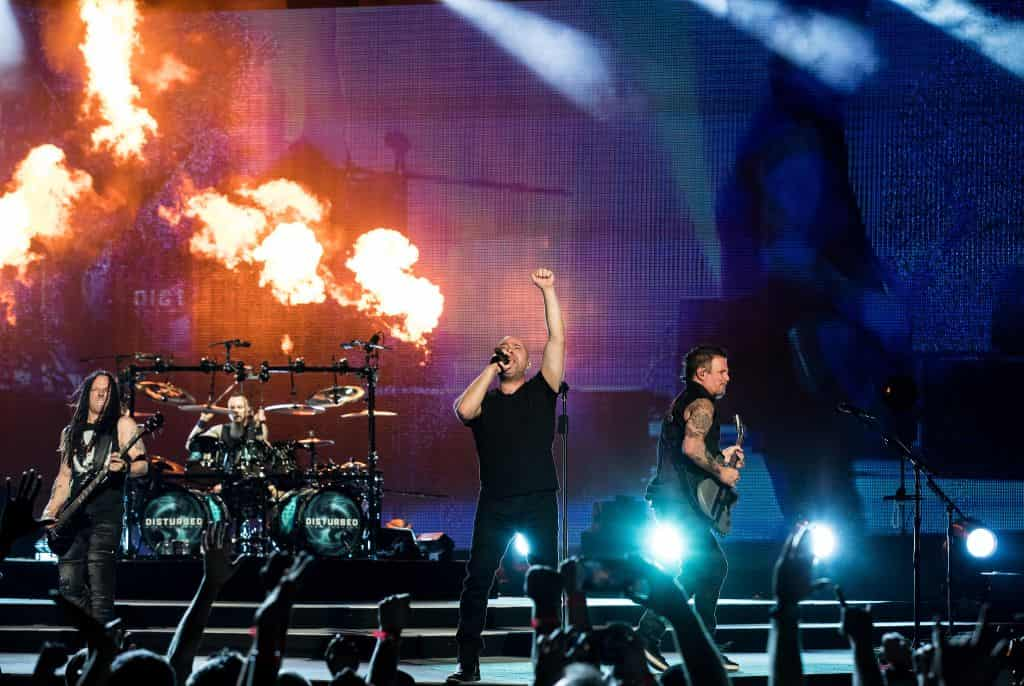 Disturbed S Powerful Evolution Tour Hits Madison Square Garden