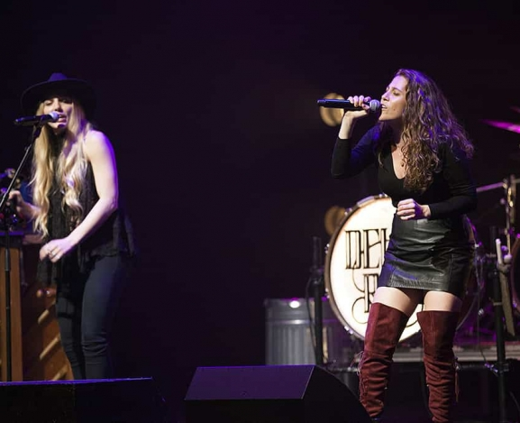 Delta Rae play McGlohan Theater