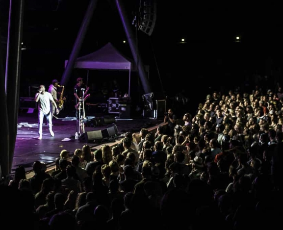 Dancing In The Rain: The Voodoo Threauxdown Tour with Trombone Shorty