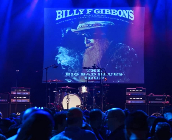 Live Review: Billy Gibbons' The Big Bad Blues Tour