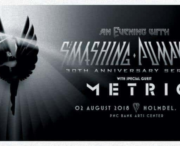 Smashing Pumpkins Announce Special One Off New Jersey show