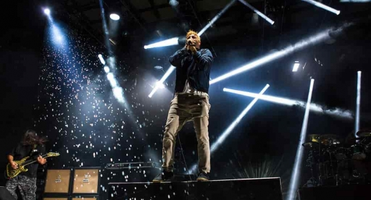 Getting Soaked with Deftones, Rise Against, Thrice & Three Trapped Tigers at CMCUA