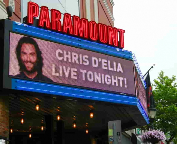 Chris D'Elia Packed Out The Paramount Doing Two Shows In One Night