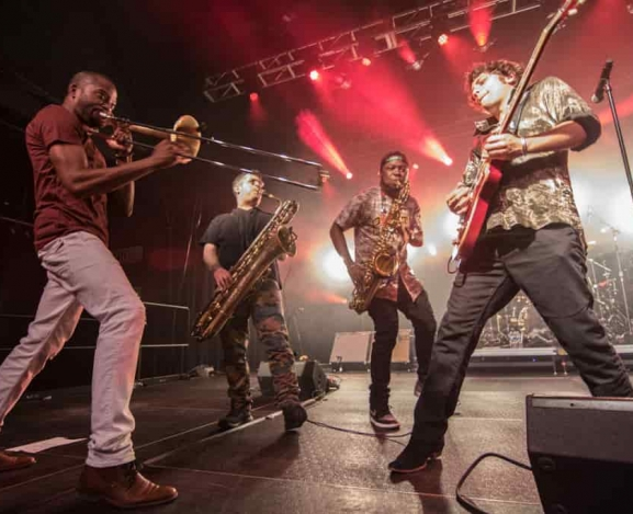 Trombone Shorty and Orleans Avenue make a big bang at The Fillmore