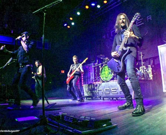 Hinder brings a larger than life tour to Greensboro