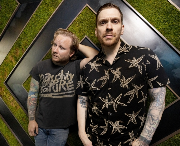 Shinedown's Brent Smith and Zach Myers Release Dual Singles As Smith & Myers