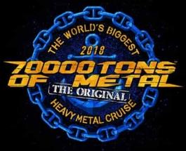 70,000 TONS OF METAL 2018 CRUISE