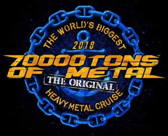 70,000 TONS OF METAL 2018 CRUISE