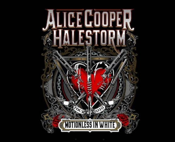Tour Announcement : Alice Cooper and Halestorm Summer Co-Headlining Amphitheater Tour