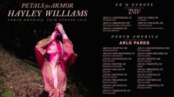 "Hayley Williams Announces ""Petals For Armor"" Solo Tour"