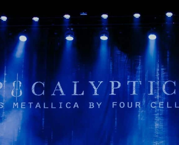 Apocalyptica Plays Metallica By Four Cellos At New Jersey's Wellmont Theater