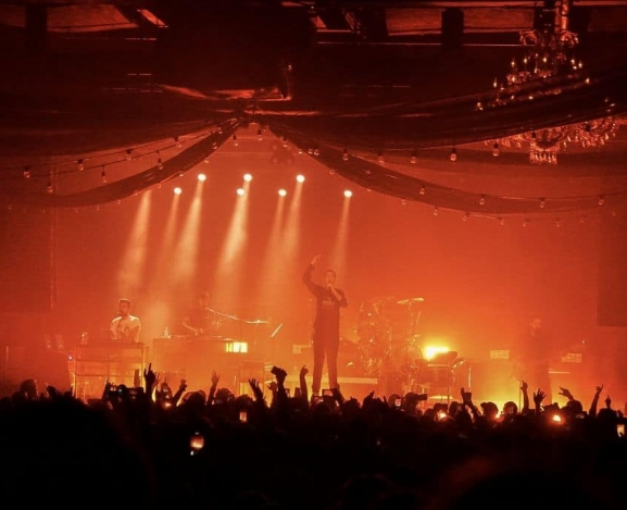 Bastille Plays The Fillmore for 106.5 The End's Festivus