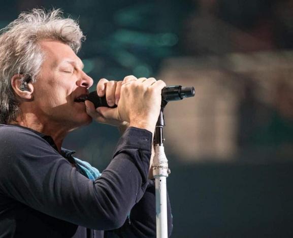 Michael Tracy answers the call…from Jon Bon Jovi!