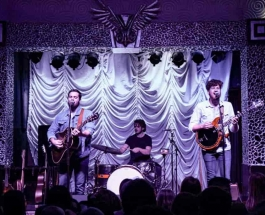 Boy Named Banjo Plays First Show of the Year at Charlotte's Visulite Theatre