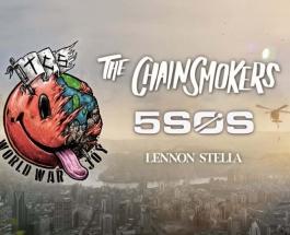New Tour Announcment: The Chainsmokers World War Joy Tour