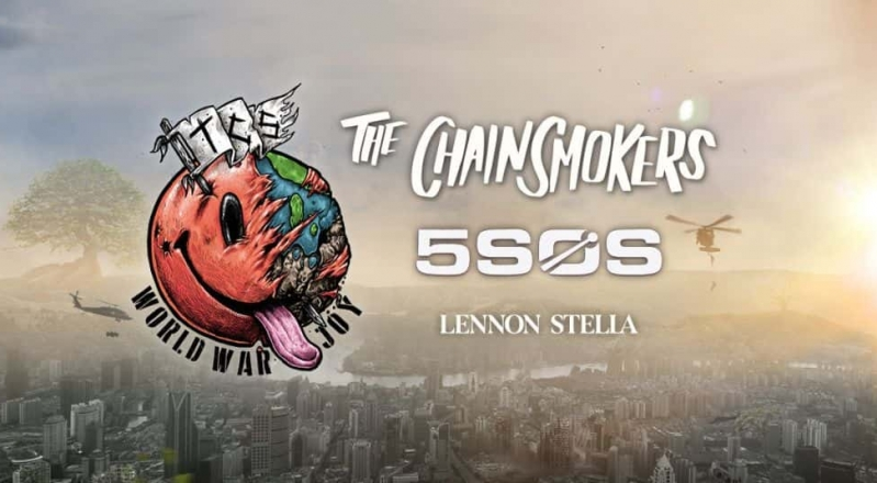 New Tour Announcment: The Chainsmokers World War Joy Tour