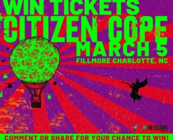 Citizen Cope and David Ramirez @Fillmore NC