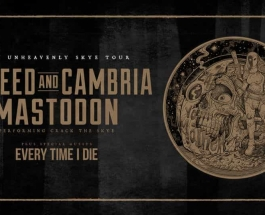 New Tour Announcement:  The Unheavenly Skye Tour with Coheed and Cambria and Mastodon