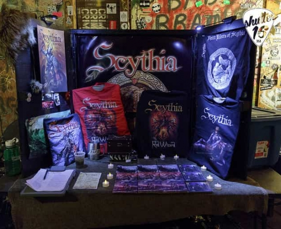 Metal fantasies come true at Milestone with Scythia