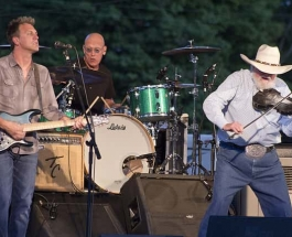 The Charlie Daniels band ventured into Bath, NY last night for the Steuben County Fair