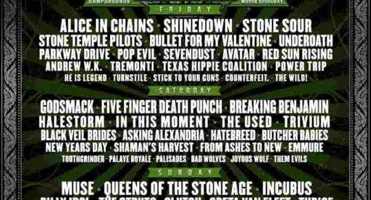 Carolina Rebellion announces lineup, internet loses their mind