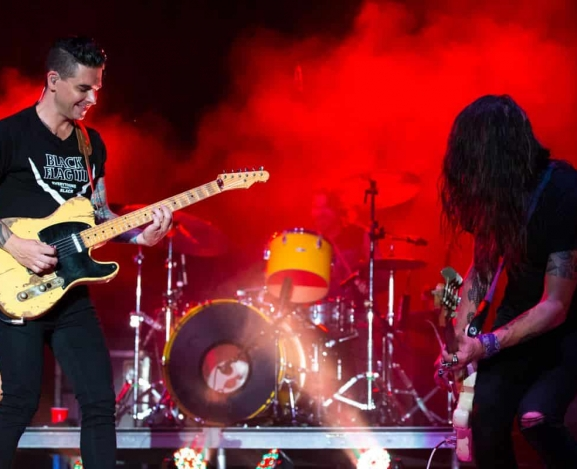 Dashboard Confessional and All-American Rejects put on 2017's best show, hands down