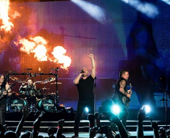 Disturbed's Powerful Evolution Tour Hits Madison Square Garden