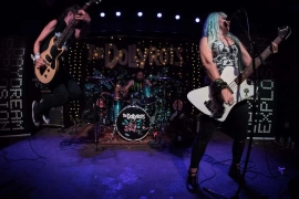 The Dollyrots, The Pink Spiders, Bound Society, and Psycho Psycho Bring the Punk to The RadioRoom