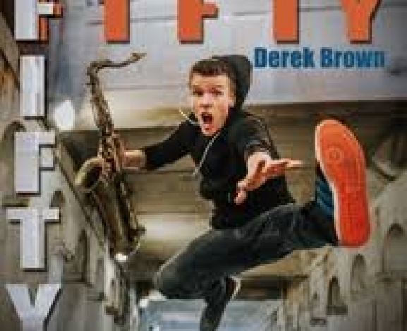 Fifty Fifty by Derek Brown: moving, hooky, and always fun.