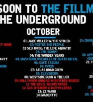 October – Livenation has some great shows coming your way!