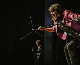 Rock and roll legends Foreigner spent a hot night in town