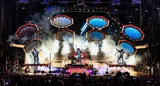 KISS Rocked and Rolled All Night With Charlotte Fans At PNC Music Pavilion