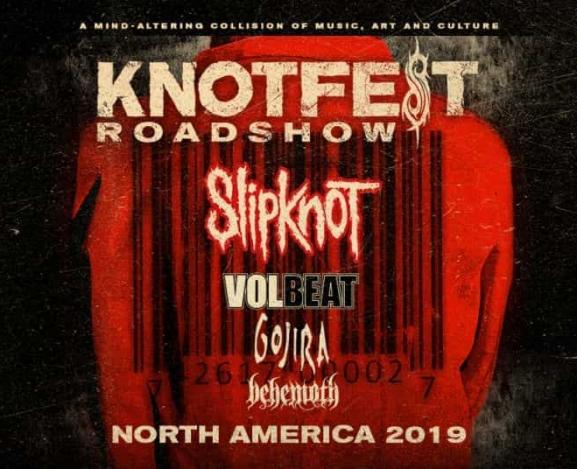 Slipknot Announce KNOTFEST Roadshow With Volbeat, Gojira, and Behemoth