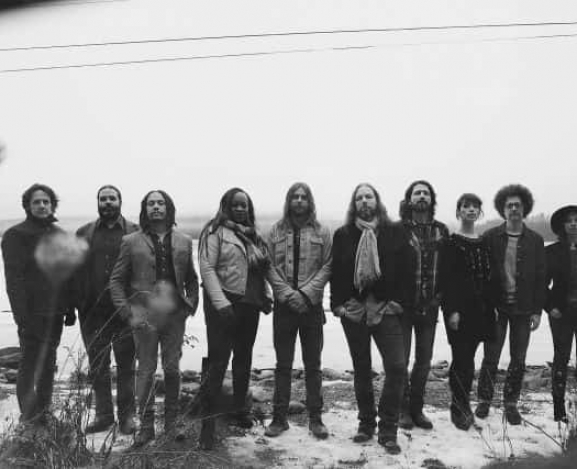 The Magpie Salute grace the Carolina's with bluesy rock