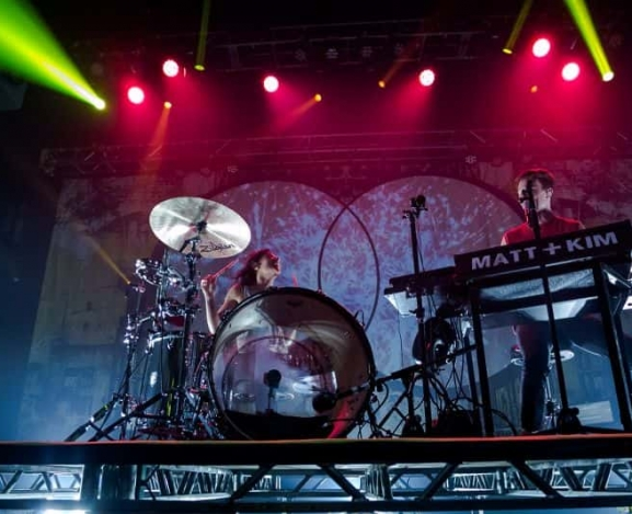 Matt & Kim Transform Mercury Ballroom Into A Dance Party