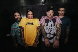 Pop-Punk Rockers New Found Glory Get Into The Halloween Spirit