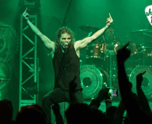 "Overkill and Nile ""Grinding"" at the Fillmore"
