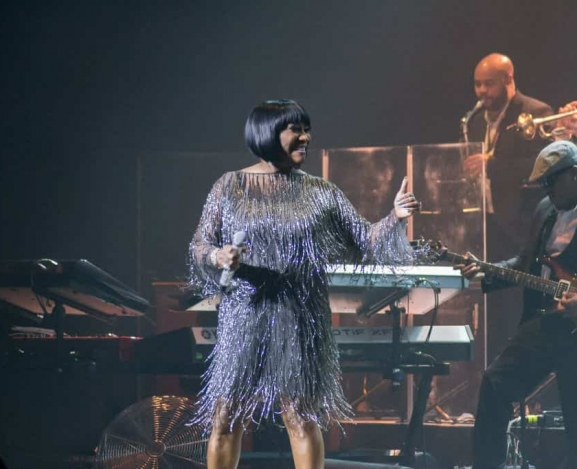Legendary Patti LaBelle graced a sold out DPAC