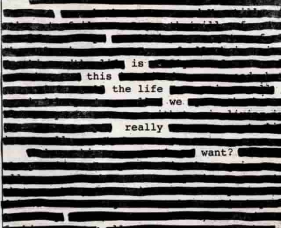 Roger Waters Asks: Is This The Life We Really Want?