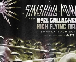 Tour Announcement: The Smashing Pumpkins and Noel Gallagher's High Flying Birds North American Summer Tour