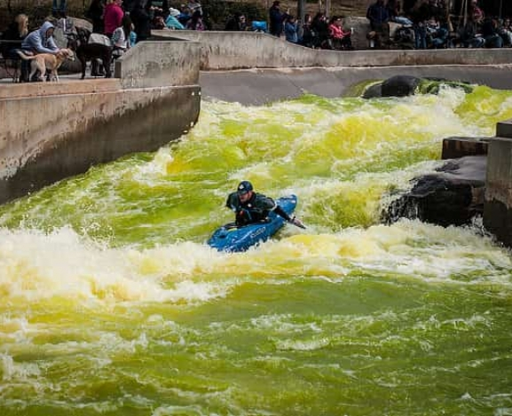 The Motet helps to open US National Whitewater Center