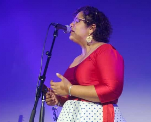 La Santa Cecelia launches Amar y Vivir at a packed party at Hollywood Forever Cemetery