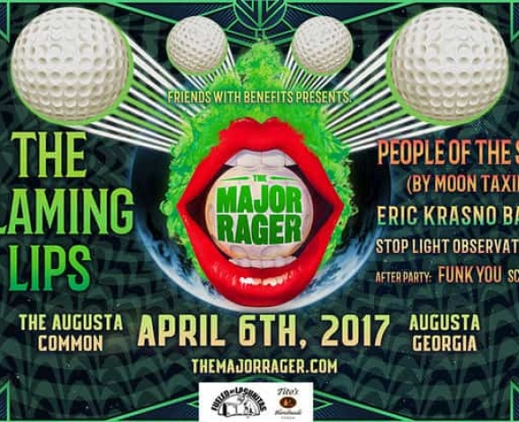 Masters Golf Tournament + The Flaming Lips = ?