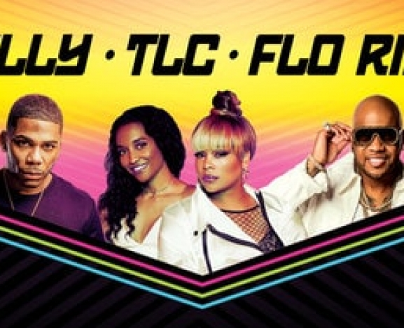 Tour Announcement: Nelly, TLC, and Flo Rida Summer Amphitheater Tour