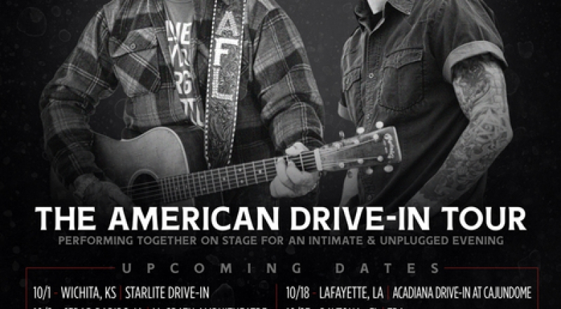 The American Drive-In Tour Hits The Road This October Starring Aaron Lewis and Sully Erna