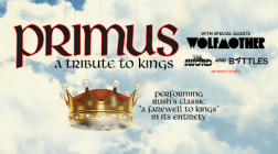 "Primus To Pay Homage To Rush On ""A Tribute To Kings"" Tour"