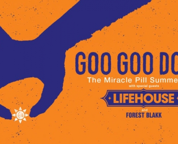 Summer Tour Announcement : Goo Goo Dolls with Lifehouse and Forest Blakk