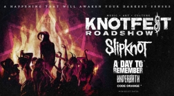 Summer Tour Alert: SLIPKNOT ANNOUNCE KNOTFEST ROADSHOW 2020 WITH SPECIAL GUESTS: A DAY TO REMEMBER UNDEROATH AND CODE ORANGE