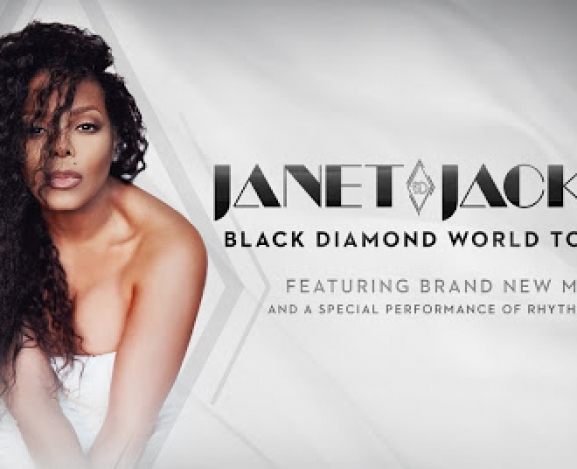 The Iconic Janet Jackson Announces Black Diamond World Tour