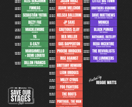 Save Our Stages! #SOSFest Streaming Live This Weekend